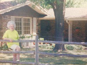 Grandma in Lubbock