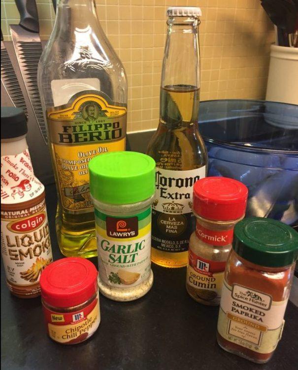 Chicken Fajita Ingredients