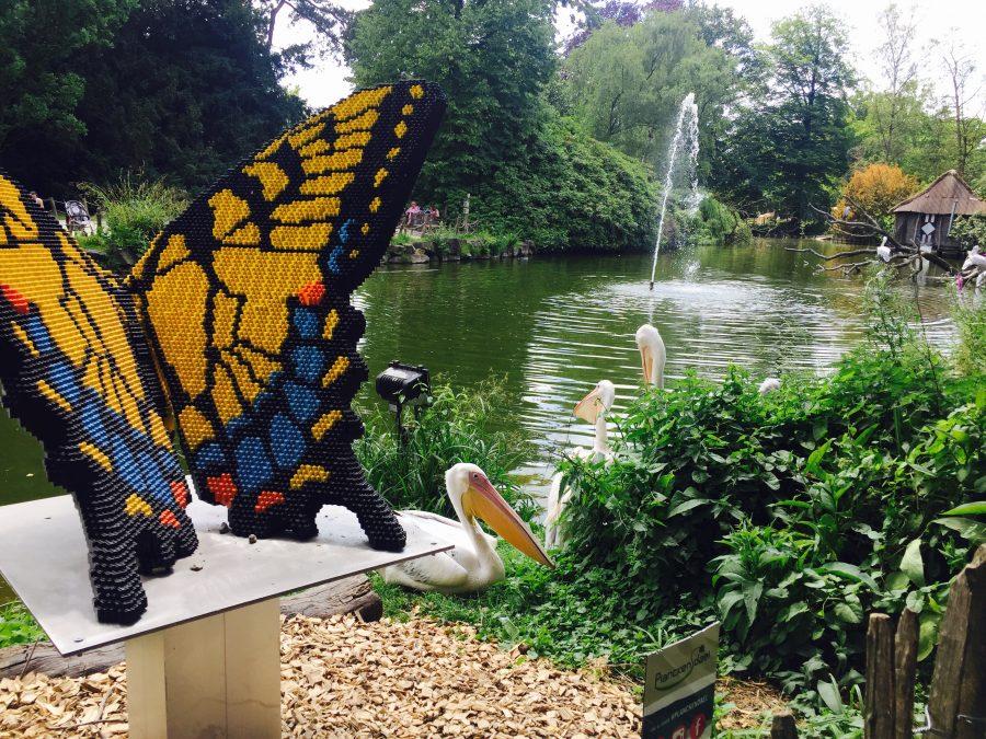 Lego Monarch Butterfly