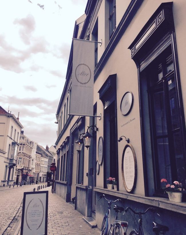 Alice - Street Entrance