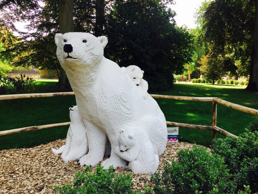 Lego Polar Bear Mama and Cubs