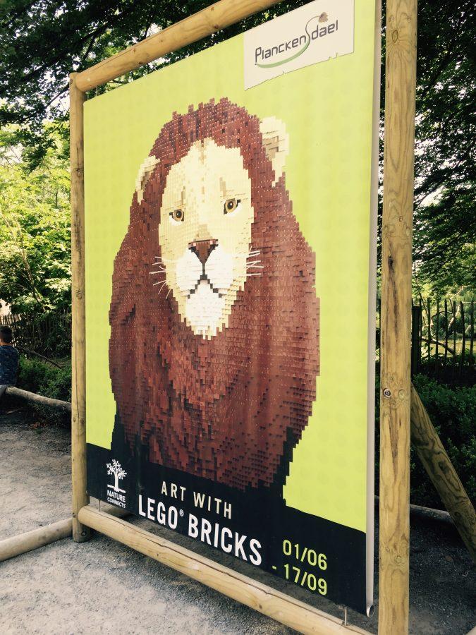 Planckendael's Art of the Brick