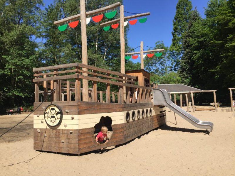 Te Boelaerpark Pirate Ship Playground