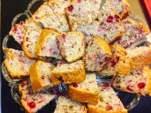 Jeweled Cranberry Bread