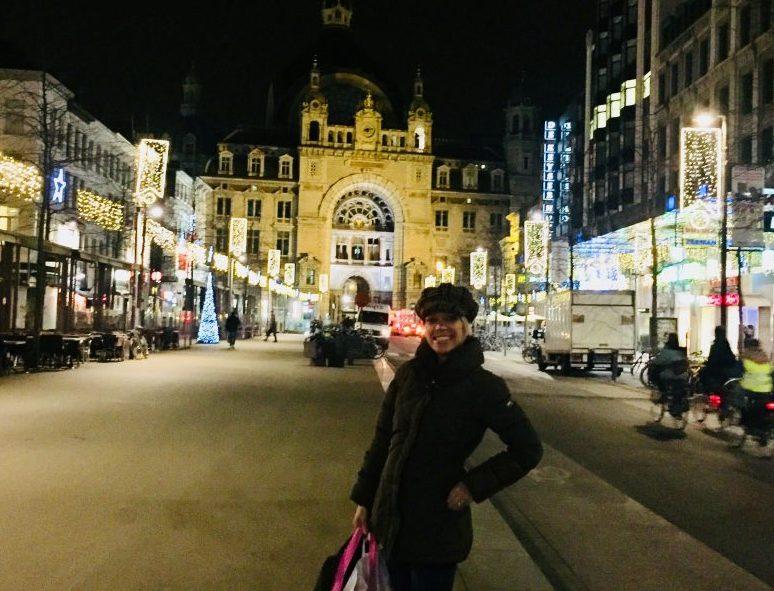 Belle in Belgium in Antwerp