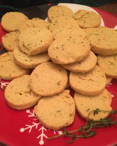 Terrific Thyme Crackers