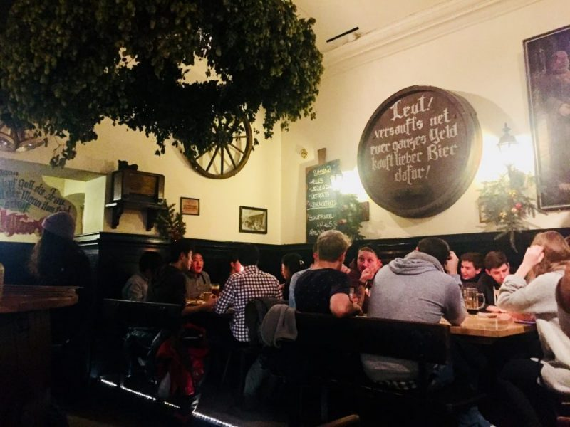 College Students at the pub