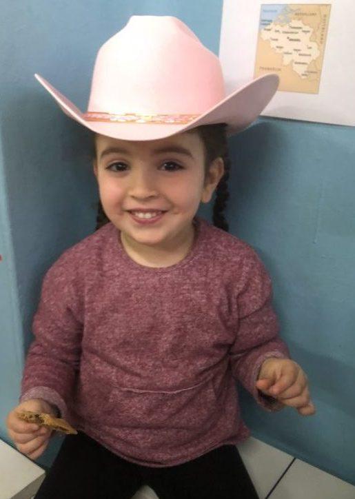Belgian Children Love Cowboy Hats