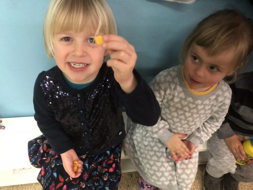 Goldfish Crackers - An Authentic American Pre-School Snack