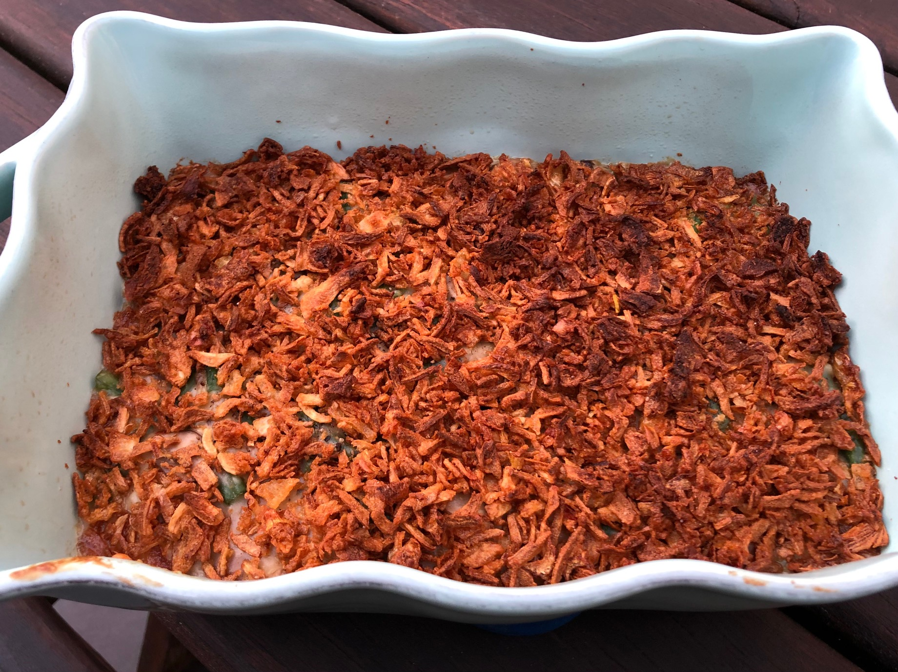 European-Adapted Green Bean Casserole
