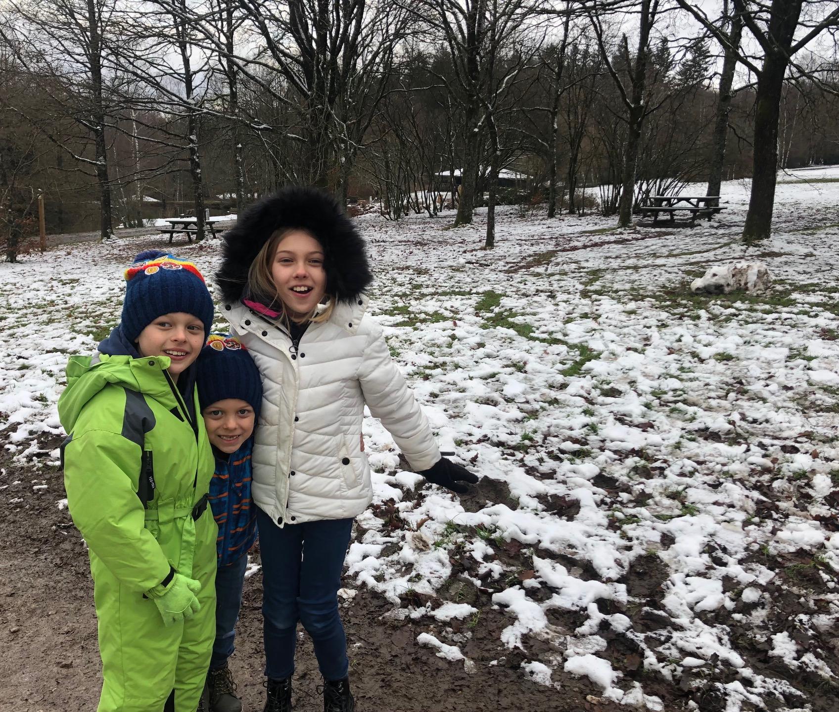 Snow in Spa!